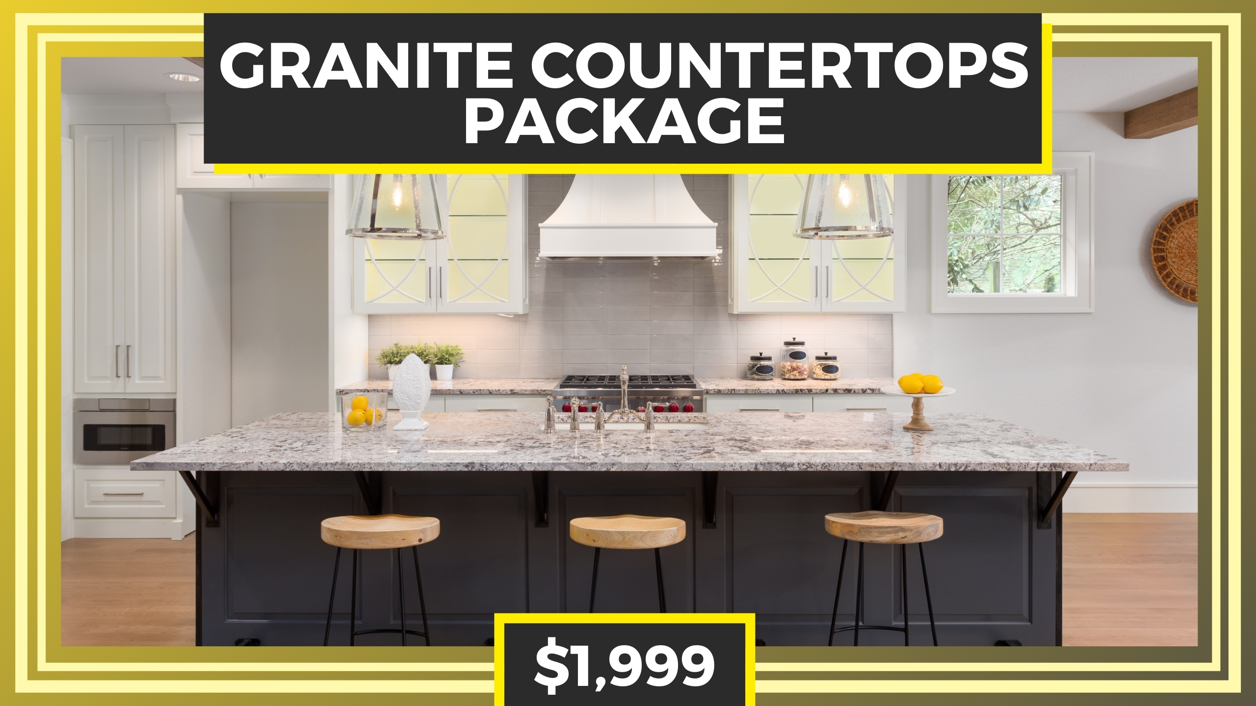 Lexington Youtube Cover Granite countertops PACKAGE 2560 x 1440 px