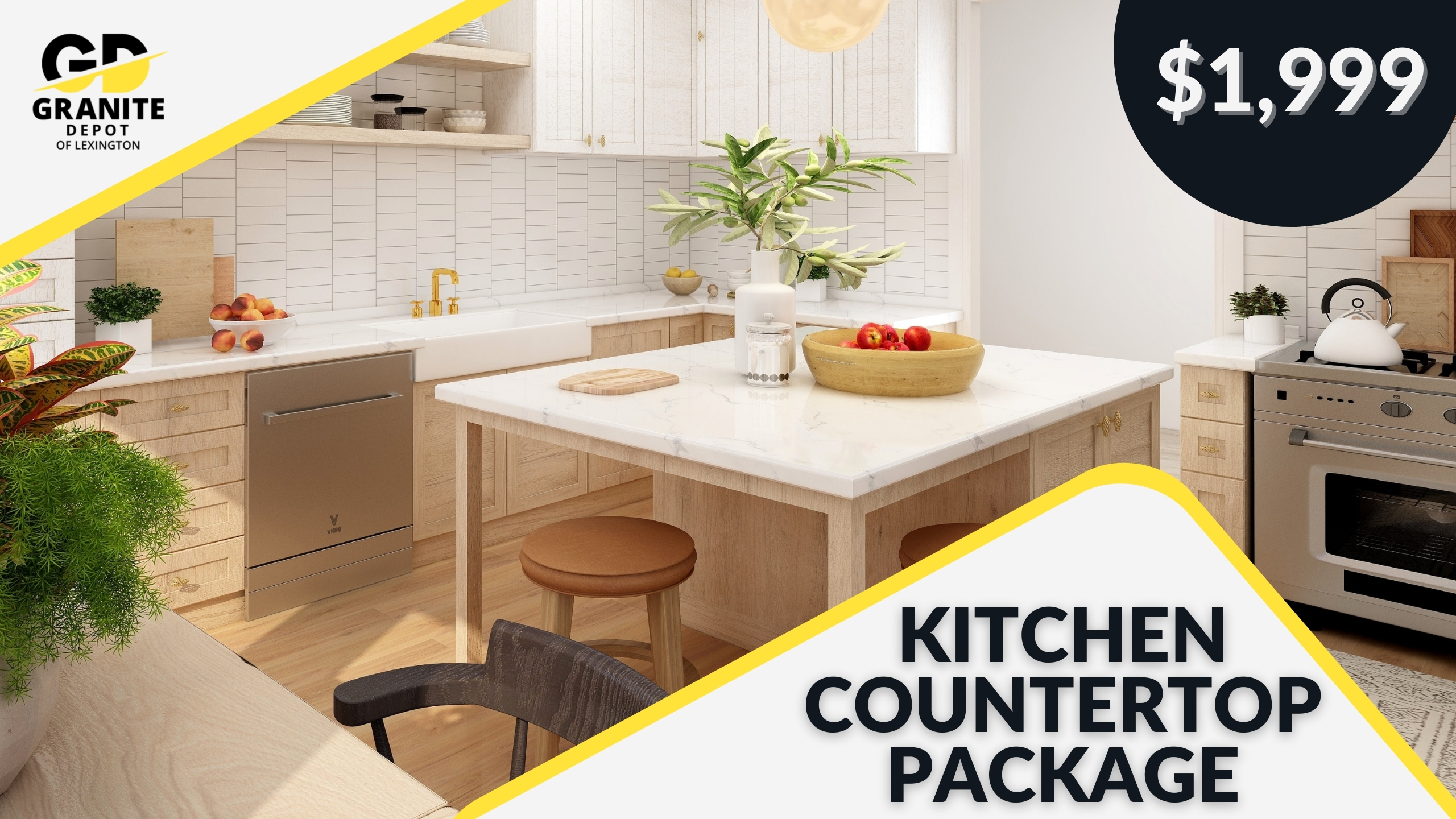 Lexington Youtube Cover Kitchen Countertop Package